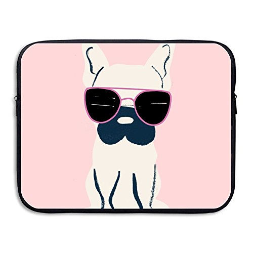 Praise Store French Bulldog Computer Liner Laptop Bag 15 Inch Tablet Case Computer Accessories For Macbook Air Pro (French Bull Tablet Case)