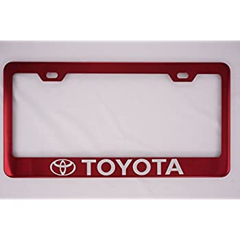 Amazon Com Toyota Camry Polished Steel License Plate