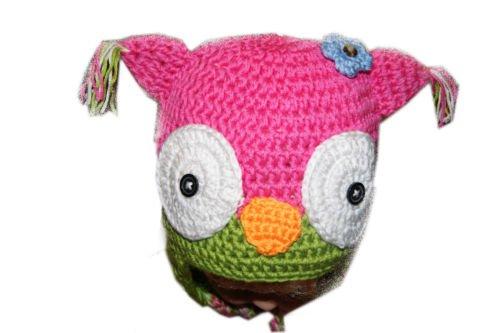 Chaussures bébé et chapeaux, bébé tricot crochet bonnet en tricot avec la main pourraient Owl.48cm chapeaux