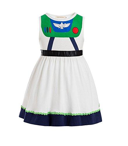 Toy Story Juniors Costume Tunic Tank Dress Buzz Lightyear Costume Fancy Dress Toy Story Jessie Costume Buzz Lightyear Costume -