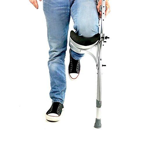 Able Motion Adjustable Ambidextrous Crutch Knee (Knee Crutch)