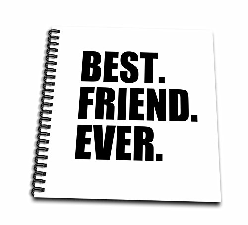 3dRose db_151502_2 Best Friend Ever Gifts for Bffs and Good Friends Humor (Friendship Album)