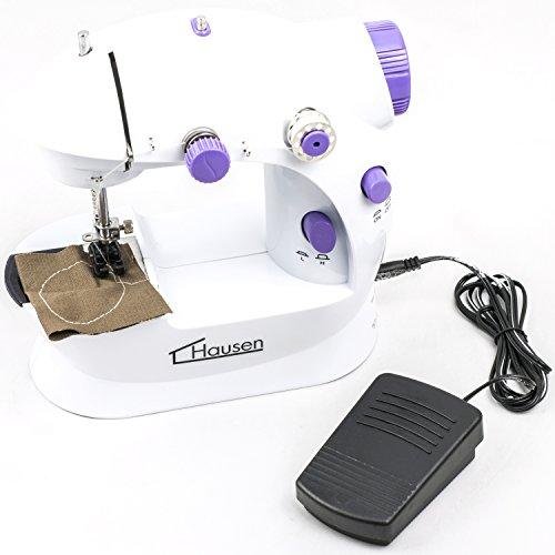 Hausen - Elektrische Mini-Nähmaschine - Mit Netzstecker ...