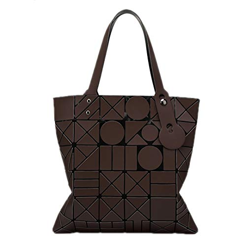 Japanese Coffee Shoulder Geometric Bag Ms Geometric Ms Lightning Folding wzFfqXv