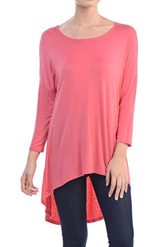 YourStyle Womens Rayon Sleeves Solid Made USA