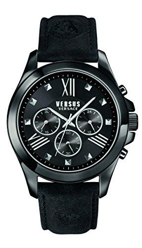 Versus by Versace Men's SBH010015 Chrono Lion Analog Display Quartz Black Watch
