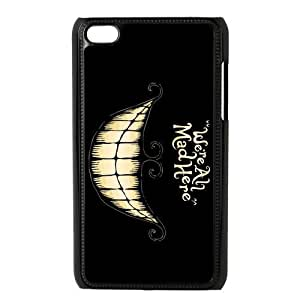 Alice In Wonderland Series, Black / White Design Plastic Snap On For Case Samsung Galaxy S5 Cover