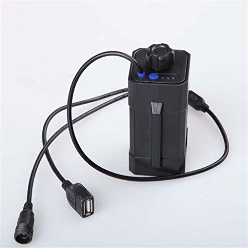 Price comparison product image Gotd Waterproof 4x18650 Battery Storage Case Box Holder For Bike LED Light