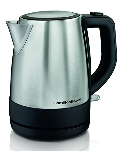 Hamilton Beach 40998 1 L Stainless Steel Electric Kettle Silver