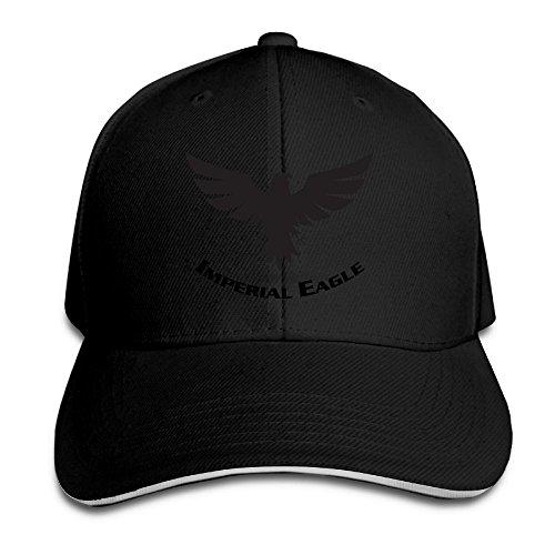 Golf Hat Imperial (Fr45 Caps Imperial Eagle Unisex Adjustable Sandwich Baseball Hats)