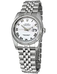 Mens New Style Heavy Band Stainless Steel Datejust Model 116234 Jubilee...