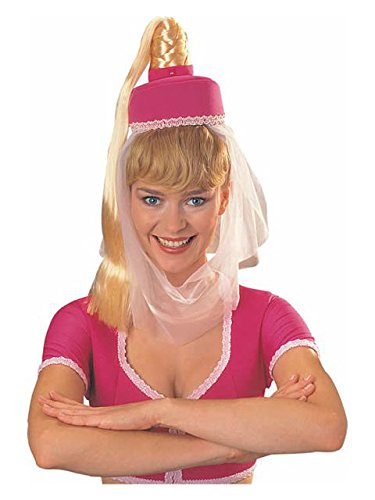 Rubie's I Dream of Jeannie TM Hat with Ponytail ()