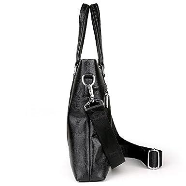 Mens Handbag Cross Section Large-Capacity Business Bag Wild Casual Shoulder Messenger Computer Bag