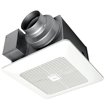 Panasonic FV-05-11VK2 WhisperGreen Select Customizable Ventilation Fan, Pick-A-Flow Speed Selector, Extremely Quiet, Long Lasting, Easy to Install, Code Compliant, Energy Star Certified, White