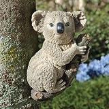 13″ Climbing Koala Bear Animal Sculpture Statue Figurine