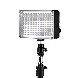 Aputure H198c Amaran CRI 95+ On-Camera Bicolor Temperature Light (Black)