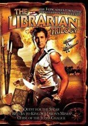 THE LIBRARIAN TRILOGY - 3 DVD Box Set: QUEST FOR THE SPEAR / RETURN TO KING SOLOMON'S MINES / THE CURSE OF THE JUDAS CHALICE (2004-2008) (import)