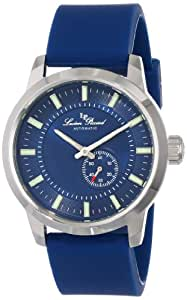 Lucien Piccard Men's LP-12550-03-BU Blue Dial Blue Silicone Automatic Watch