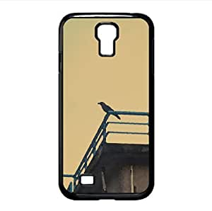 Bird and Sky Watercolor style Cover Samsung Galaxy S4 I9500 Case