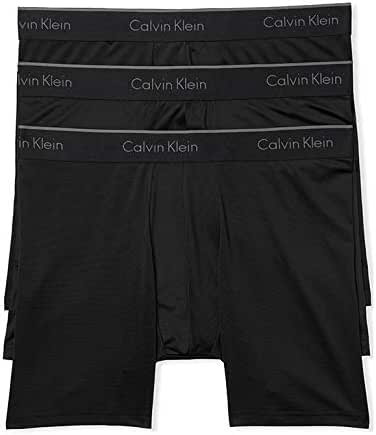 Calvin Klein Men's Microfiber Stretch Multipack Boxer Briefs