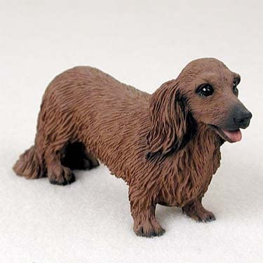 Conversation Concepts Dachshund Longhaired Red Standard Figurine Set of 6