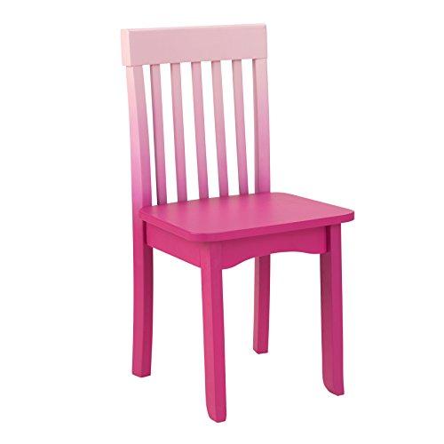 KidKraft Avalon Chair, Hot Pink Ombre
