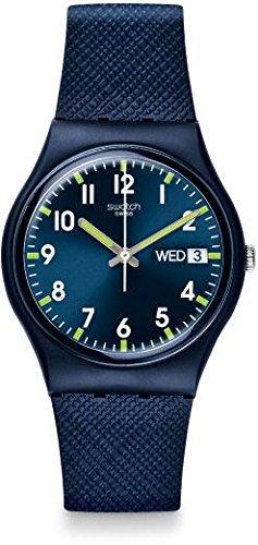 Swatch Unisex GN718 Originals Navy Blue - Kids Swatch
