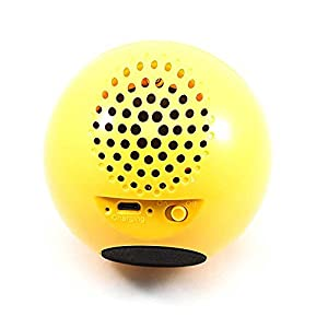 LAUD Portable Bluetooth Emoji Speaker – Wireless Mini Speaker with Loud, Clear, Powerful Sound - Smiley Face Emoticon (Heart-Eyes)