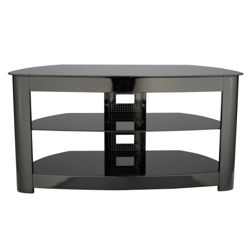helf Audio Video Stand Gloss Black (Sanus Glass Tv Stand)