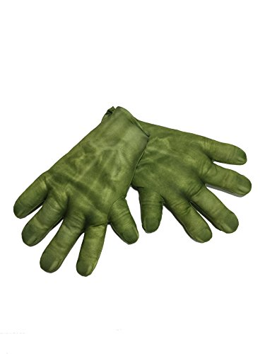 Rubie's Men's Avengers 2 Age of Ultron Adult Hulk Gloves, Green, One (Superhero Costumes Age 1-2)