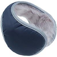 Iuway Unisex Plush Lined Foldable Sport Winter Warm Earmuffs Waterproof