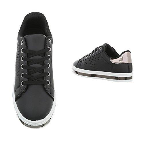 Ital Ital design Sneaker Sneaker design Nero Donna Nero Donna qwtZgxpnF