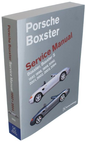 BENTLEY Paper Repair Manual Porsche Boxster 1997-04