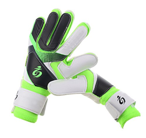 Gloves Cotton Ansell (Youth&Adult Goalie Goalkeeper Gloves,Strong Grip for The Toughest Saves Green 8)