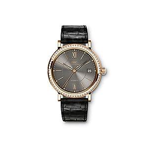 NEW IWC Portofino 18k Rose Gold Automatic 37mm Grey Dial Watch IW458108