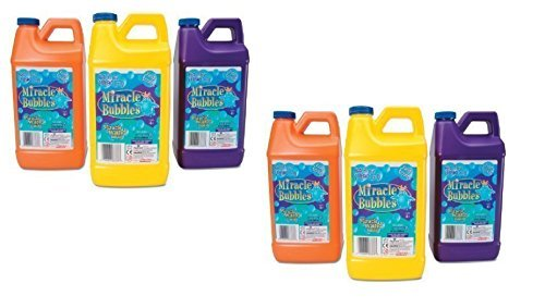 Miracle Bubble Jar 64 oz, Packaging May Vary (Pack of 6)