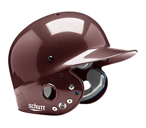 Schutt Sports Senior OSFM 2809 AIR PRO MAXX T Batter's Helmet, High Gloss Maroon ()