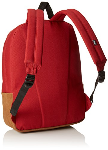 Vans Old Skool II Backpack - Mochila unisex, color, talla One Size Rojo (Red Dahlia Colorblock)