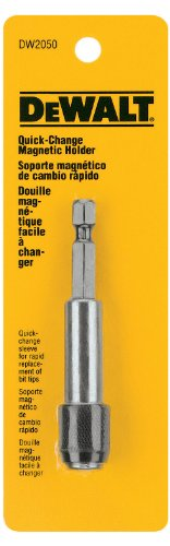 Pivoting Bit Tip Holder - DEWALT DW2050 Quick Change 3-Inch Magnetic Bit Tip Holder