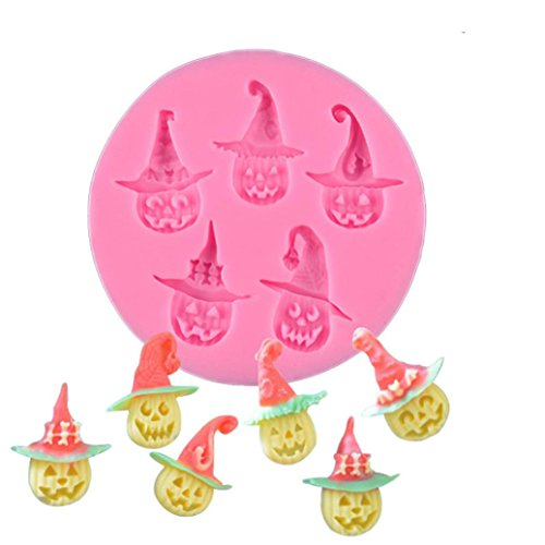 Sikye Silicone Cake Mold,Creative Halloween Pumpkins DIY Baking Mould Tools Festival (Creative Halloween Cakes)