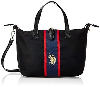 US Polo Womens Small Shopping Bag, Black - BIUPW0630WIP000