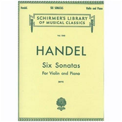 Handel Six Sonatas - 9
