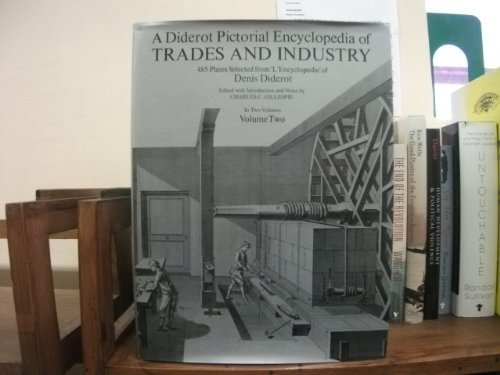 Diderot Pictorial Encyclopedia of Trades and Industry: Volume Two from Brand: Dover Publications, Incorporated