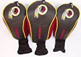 NFL Washington Redskins 3 Pack Mesh Longneck Headcover Set, Outdoor Stuffs