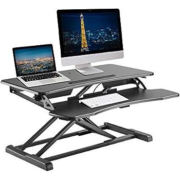 Amazon Com Standing Desk Taotronics 36 Quot Adjustable Sit