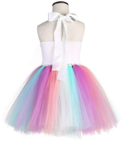 Tutu Dreams 3pcs Sequin Unicorn Dress With 3 Colors Wings And Headband For Girls 1 10y Birthday