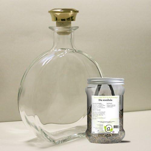 Kit de preparación Ron arrangé del suedois + 1 jarra de cristal ...