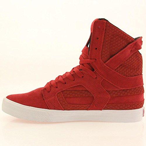 Supra, Sneaker uomo Rosso (rosso)