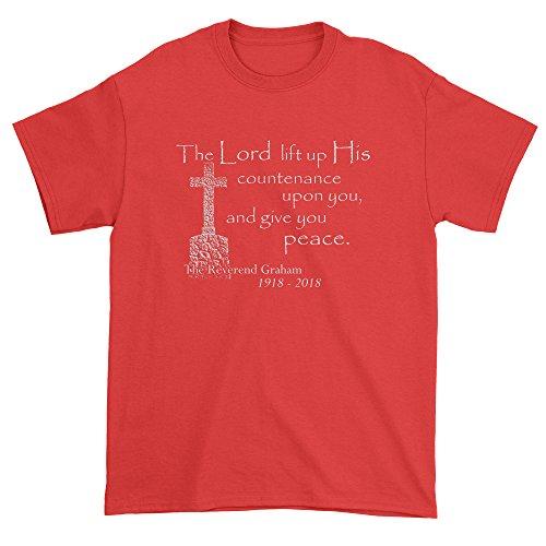 Mens Rest in Peace Reverend Graham T-Shirt Large