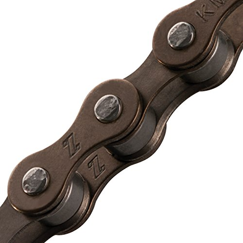 KMC Z410 Bicycle Chain (1-Speed, 1/2 x 1/8-Inch, 112L, Brown)